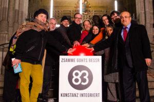 """Der Startschuss zur Kampagne """"83 - Konstanz integriert"""""""